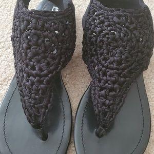 Enzo Angolini Eaxaivi black sandal
